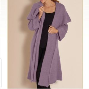 Soft Surroundings Telluride Sweater Duster Topper